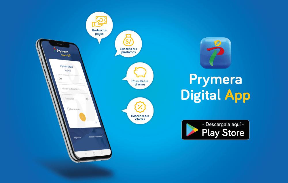 Prymera Digital App