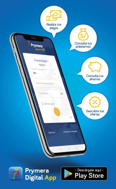 Descarga aquí Prymera Digital App